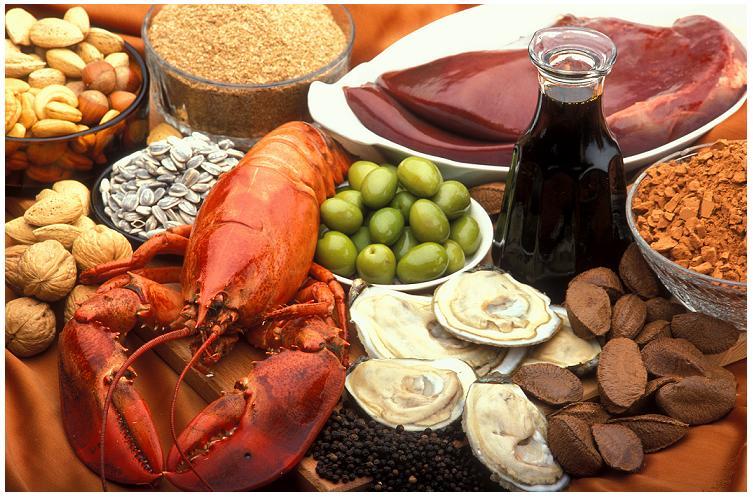 Zinc Rich Foods Benefits