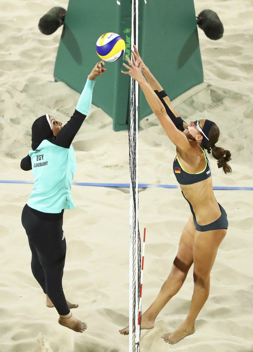 Beach Volleyball Egypt vs Germany
