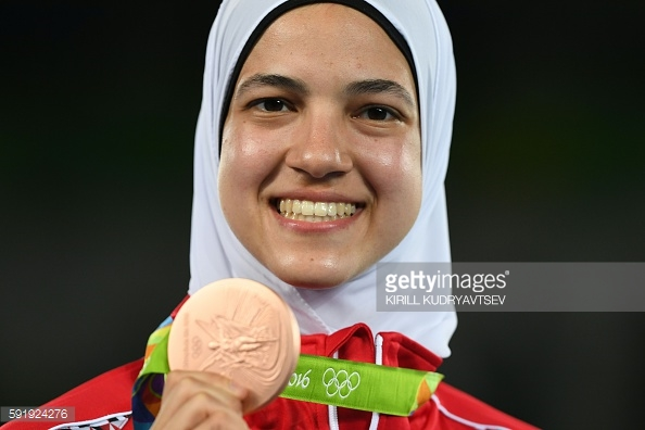 Hedaya Malak Bronze Medalist