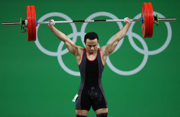 Ahmed Saad Weightlifting Rio 2016
