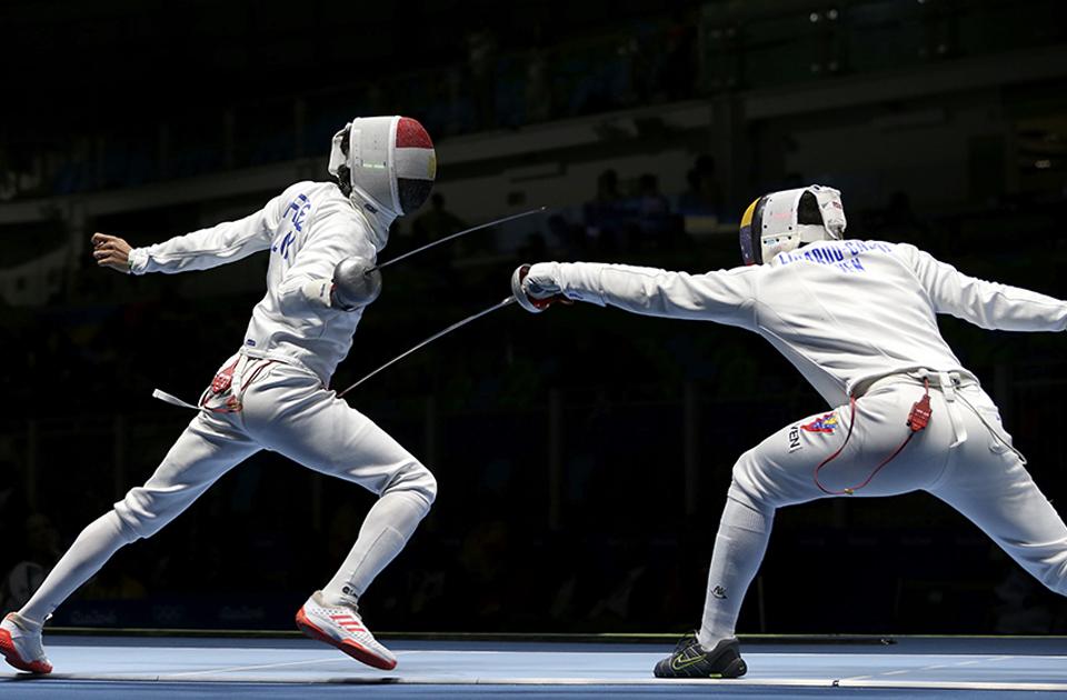 Fencing Ayman Fayez