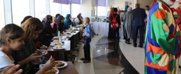 ندوة عن التغذية بمستشفى السرطان5737